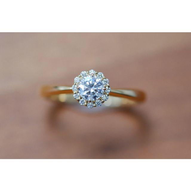 Vendome Aoyama(ヴァンドームアオヤマ)のK18 ヴァンドーム青山 グレース ダイヤモンド 0.245ct リング  レディースのアクセサリー(リング(指輪))の商品写真