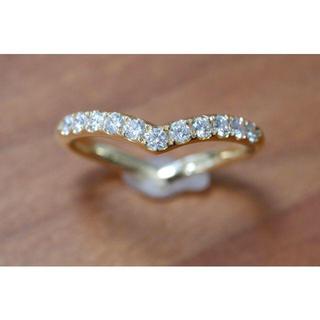 K18 和光 ダイヤモンド 0.28ct リング 11号 銀座和光 WAKO (リング(指輪))
