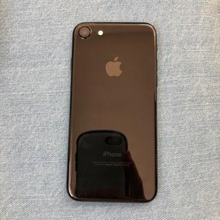 アイフォーン(iPhone)のiPhone7 128GB ジェットブラック(スマートフォン本体)