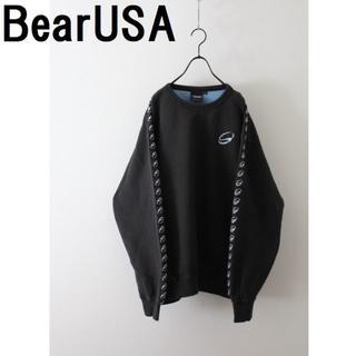 ベアー(Bear USA)のBear USA ベアーUSA スウェット 古着 袖ロゴ(スウェット)