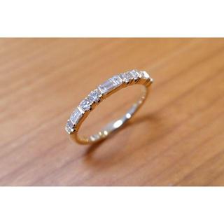 まめっちよ様 K18 GINZA TANAKA ダイヤモンド 0.48ct(リング(指輪))