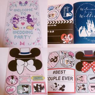 ディズニー(Disney)のDisneyミッキーミニーシンデレラウエルカムボード&プロップス豪華23種SET(その他)