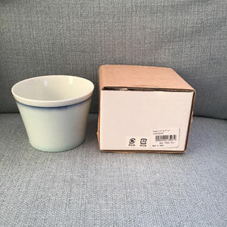 イデー(IDEE)の【新品未使用】IDEE アタッシュドイデー ライン入りカップ 2点セット(食器)