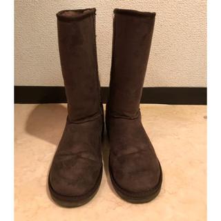 ブーツ ムートン風ブーツ XSサイズ(ブーツ)