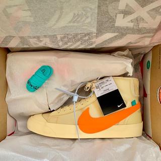 ナイキ(NIKE)のOff White Nike The Ten Blazer Mid(スニーカー)