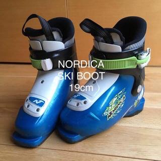 ノルディカ(NORDICA)のNORDICA ジュニアスキーブーツ 19cm(ブーツ)