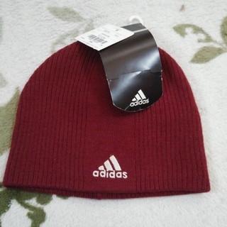 アディダス(adidas)のニット帽 adidas (ニット帽/ビーニー)