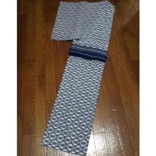 手縫いのメンズ浴衣 Mサイズ(浴衣)