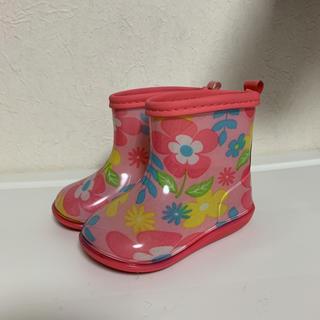 キッズフォーレ(KIDS FORET)の新品未使用!キッズフォーレベビーピンク長靴 13センチ(長靴/レインシューズ)