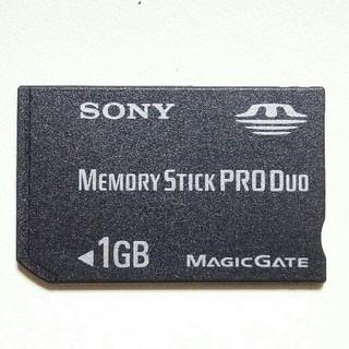 プレイステーションポータブル(PlayStation Portable)のPSP用 1GB メモリースティック PRO DUO 即購入歓迎 ソニー純正1個(携帯用ゲーム本体)