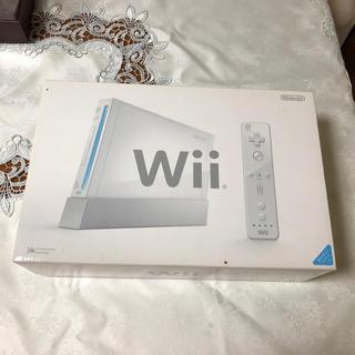 ウィー(Wii)のWii 本体 未使用品(家庭用ゲーム本体)