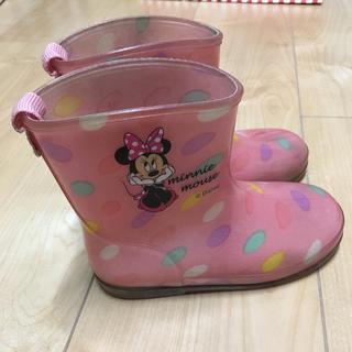 ディズニー(Disney)の長靴 ミニー 17cm(長靴/レインシューズ)