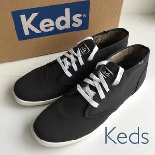 ケッズ(Keds)のKeds♪ ケッズ メンズスニーカー US8.5(26.5cm) ブラック(スニーカー)