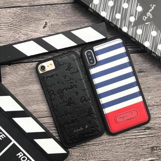 アニエスベー(agnes b.)のiPhone8ケース agnes b.(iPhoneケース)