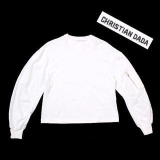クリスチャンダダ(CHRISTIAN DADA)の18SS CHRISTIAN DADA 袖ジップポケット ロングスリーブTシャツ(Tシャツ(長袖/七分))