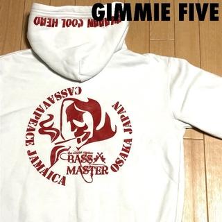 ギミファイブ(GIMME5)の#4023 GIMMIE FIVE ギミーファイブ プリント パーカー(パーカー)