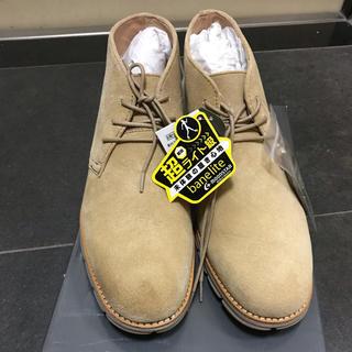 ムーンスター(MOONSTAR )のムーンスター メンズ 靴 25.5 新品 ベージュ スエード シューズ(スニーカー)
