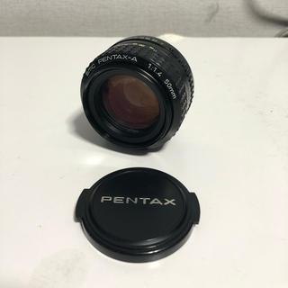 ペンタックス(PENTAX)のsmc PENTAX-A 1:1.4 50mm ペンタックス レンズ(レンズ(ズーム))