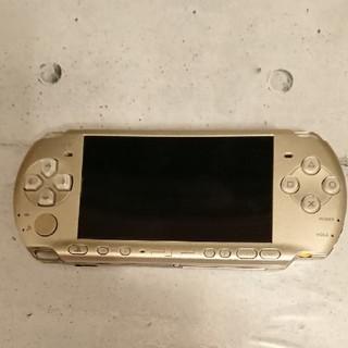 プレイステーションポータブル(PlayStation Portable)のPSP 3000本体 ソフト付き(携帯用ゲーム本体)