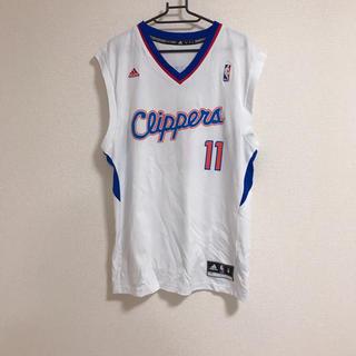 アディダス(adidas)のadidas NBA Clippers タンクトップユニフォーム(バスケットボール)