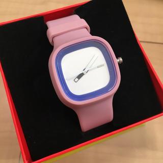 アレッシィ(ALESSI)のアレッシィ腕時計 ALESSI 箱、取説付(腕時計)