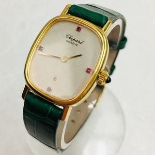 ショパール(Chopard)のショパール ルビー K18 レディース腕時計 クォーツ(腕時計)