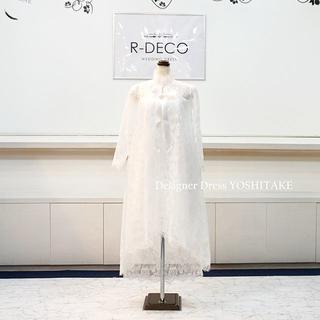ウエディングドレス 2wayミモレ&ミニドレス ブライダル二次会(ウェディングドレス)