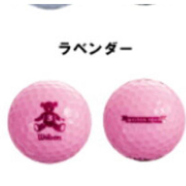 wilson(ウィルソン)のウィルソン ベア3 ゴルフボール 1ダース(12球)  スポーツ/アウトドアのゴルフ(その他)の商品写真