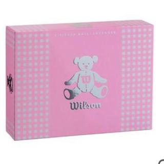 ウィルソン(wilson)のウィルソン ベア3 ゴルフボール 1ダース(12球) (その他)