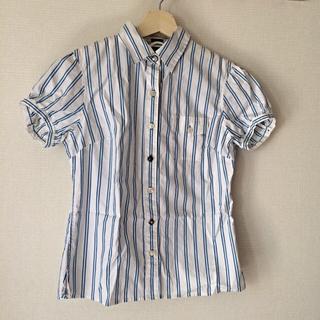 ギャップ(GAP)のストライプシャツ(シャツ/ブラウス(半袖/袖なし))