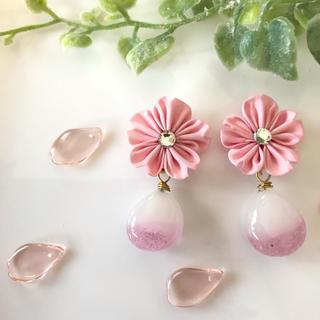 桜ドロップ(ピアス)