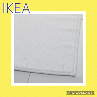 イケア(IKEA)の IKEA  BADAREN  バスマット ホワイト(バスマット)