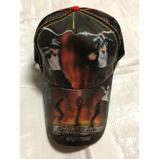 マイケルジャクソン ダンス3Dメッシュキャップ 帽子【新品】超希少(キャップ)