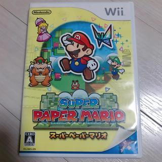 ウィー(Wii)のWii スーパーペーパーマリオ(家庭用ゲームソフト)