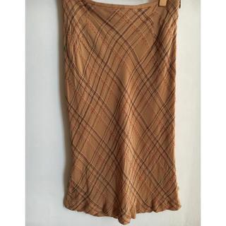 ニジュウサンク(23区)の23区 刺繍ステッチスカート(ひざ丈スカート)