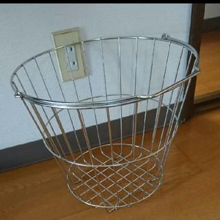 MUJI (無印良品) - 無印 ステンレス ランドリーバスケット 洗濯かご