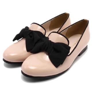 フィント(F i.n.t)のリボンオペラシューズ(ローファー/革靴)