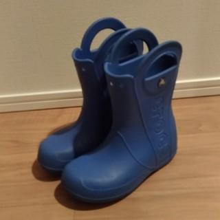 クロックス(crocs)の☆クロックス CROCS 長靴 美品 19.5cm  j1☆(長靴/レインシューズ)