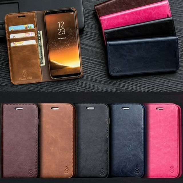 ⭐大人気⭐PUレザー手帳型iPhoneケース 選べる4色の通販 by すなふきん's shop|ラクマ
