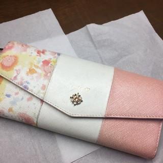 カナルヨンドシー(canal4℃)の4℃のflower長財布(財布)