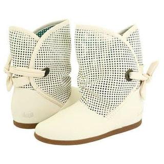 ディーブイエス(DVS)のDVS スプリングブーツ ホワイト  白 ブーツ(ブーツ)