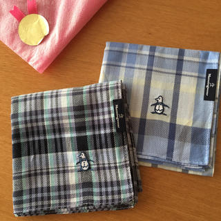 マンシングウェア(Munsingwear)のハンカチ2枚セット☆Munsingwear(ハンカチ/ポケットチーフ)