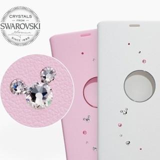 ディズニー(Disney)のDisney Mobile DM-01K 純正カバー ホワイト 新品未使用(Androidケース)
