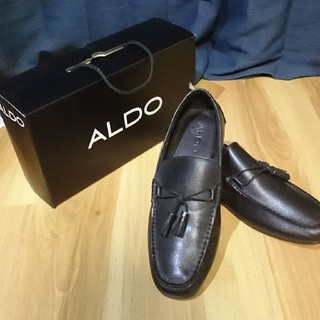 未使用 ALDO メンズローファーus11