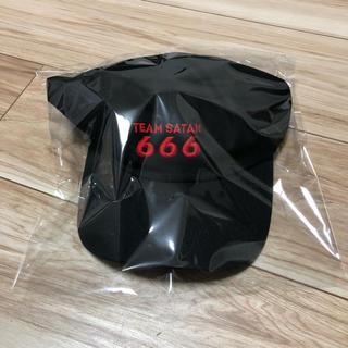 シックスシックスシックス(666)のTEAM SATAN チームサタン 666 キャップ cap 新品未使用 (キャップ)