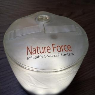 【クルッパー様専用】NatureForceインフレータブルソーラーLEDランタン(ライト/ランタン)