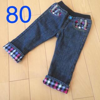 シマムラ(しまむら)のデニムパンツ 80(パンツ)