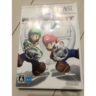 ウィー(Wii)のマリオカート Wii   任天堂 ゲームソフト レース  美品(家庭用ゲームソフト)