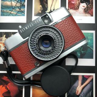 オリンパス(OLYMPUS)の【完動品】OLYMPUS  PEN EES2  フィルムカメラ【極美品】(フィルムカメラ)