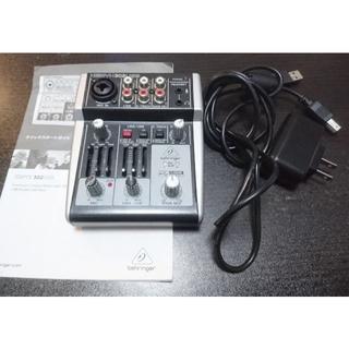 ベリンガー USBオーディオインターフェイス XENYX302USB(オーディオインターフェイス)